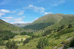 Glenfinnan Estate, showing the famous viaduct